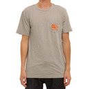 RVCA Flipped Box T Shirt in Iron