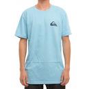 Quiksilver MW Logo T Shirt in Norse Blue