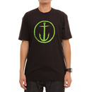 Captain Fin Co. Original Anchor T Shirt in Black