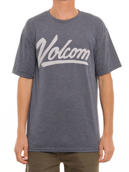 Volcom Seeker T Shirt in Navy