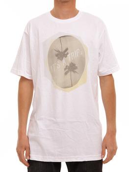 Volcom Palm Trip T Shirt in White