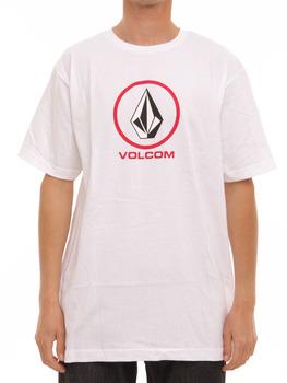Volcom New Circle T Shirt in White