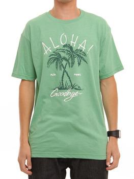 Rip Curl Aloha Goodbye T Shirt in Green Heather