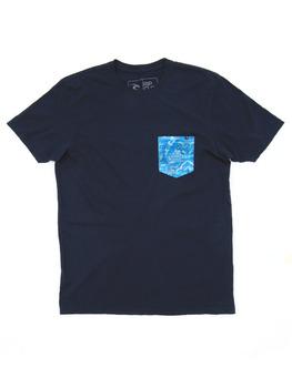 Rip Curl Glasser Custom T Shirt in NAV