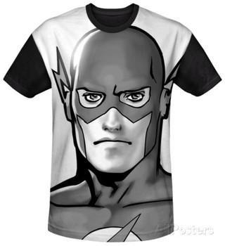 The Flash - Black and White Flash Head