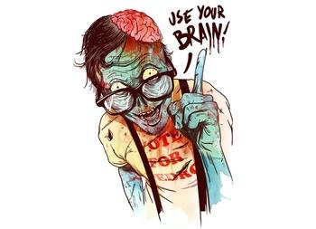 Use Your Brain Tee