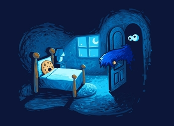 Cookie Monster in the Closet Tee