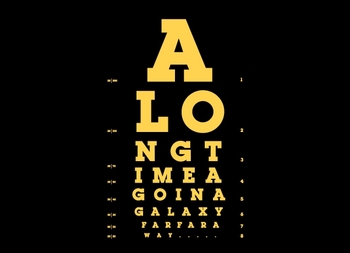 This Is Not the Eye Chart You're Looking For.  Tshirt