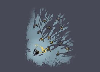 Zombie Shadows T-shirt