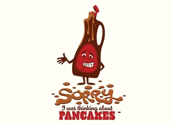 Sorry, I Was Thinking About Pancakes Tee