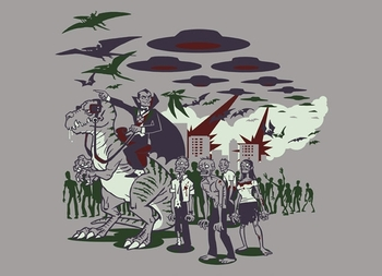 THIS Is How The World Ends T shirt