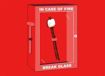 In Case of Fire Tshirt