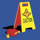 Caution Banana