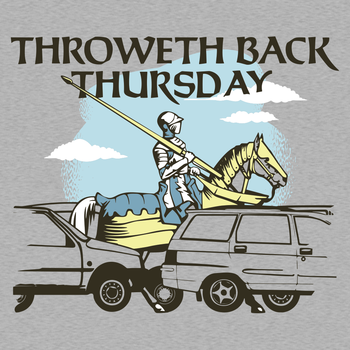 Throweth Back Thursday