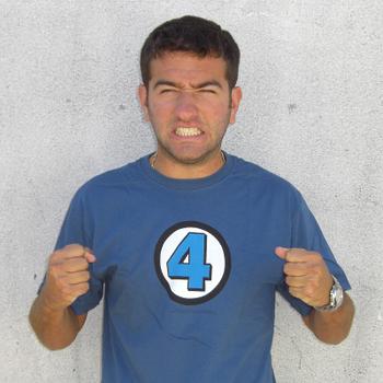 Fantastic 4 Logo Costume