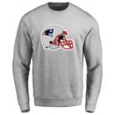 Men's New England Patriots Design Your Own Crewneck Sweatshirt