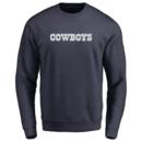Men's Dallas Cowboys Design-Your-Own Crewneck Sweatshirt