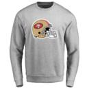 Men's San Francisco 49ers Design Your Own Crewneck Sweatshirt