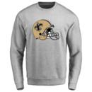 Men's New Orleans Saints Design Your Own Crewneck Sweatshirt