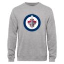 Men's Winnipeg Jets Design Your Own Crewneck Sweatshirt