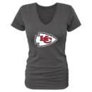 Women's Kansas City Chiefs Design Your Own Retro V-Neck Tri-Blend T-Shirt