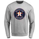 Men's Houston Astros Design Your Own Crewneck Sweatshirt