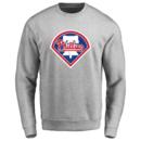 Men's Philadelphia Phillies Design Your Own Crewneck Sweatshirt