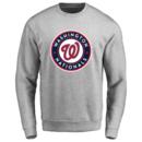 Men's Washington Nationals Design Your Own Crewneck Sweatshirt