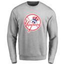 Men's New York Yankees Design Your Own Crewneck Sweatshirt