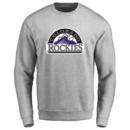 Men's Colorado Rockies Design Your Own Crewneck Sweatshirt