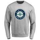 Men's Seattle Mariners Design Your Own Crewneck Sweatshirt