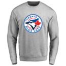 Men's Toronto Blue Jays Design Your Own Crewneck Sweatshirt