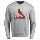 Men's St. Louis Cardinals Design Your Own Crewneck Sweatshirt