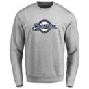 Men's Milwaukee Brewers Design Your Own Crewneck Sweatshirt
