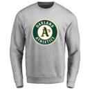 Men's Oakland Athletics Design Your Own Crewneck Sweatshirt