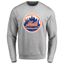 Men's New York Mets Design Your Own Crewneck Sweatshirt