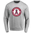 Men's Los Angeles Angels Design Your Own Crewneck Sweatshirt