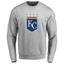 Men's Kansas City Royals Design Your Own Crewneck Sweatshirt