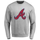 Men's Atlanta Braves Design Your Own Crewneck Sweatshirt