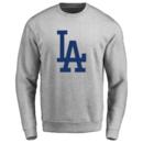 Men's Los Angeles Dodgers Design Your Own Crewneck Sweatshirt