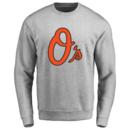 Men's Baltimore Orioles Design Your Own Crewneck Sweatshirt