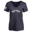 New York Yankees Women's Design Your Own V-Neck T-Shirt