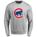 Men's Chicago Cubs Design Your Own Crewneck Sweatshirt