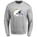 Men's Los Angeles Chargers Design Your Own Crewneck Sweatshirt
