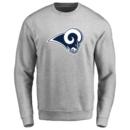 Men's Los Angeles Rams Design Your Own Crewneck Sweatshirt