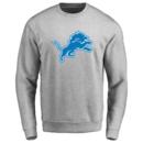 Men's Detroit Lions Design Your Own Crewneck Sweatshirt