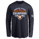 Houston Astros Youth 2017 World Series Champions Design Your Own Long Sleeve T-Shirt