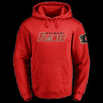 Calgary Flames Men's Pull Over Hoodie