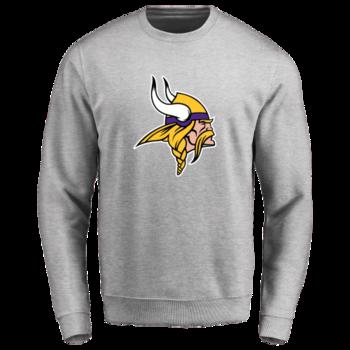 Men's Minnesota Vikings Design Your Own Crewneck Sweatshirt