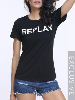 Printed Round Neck Short Sleeve T-shirts